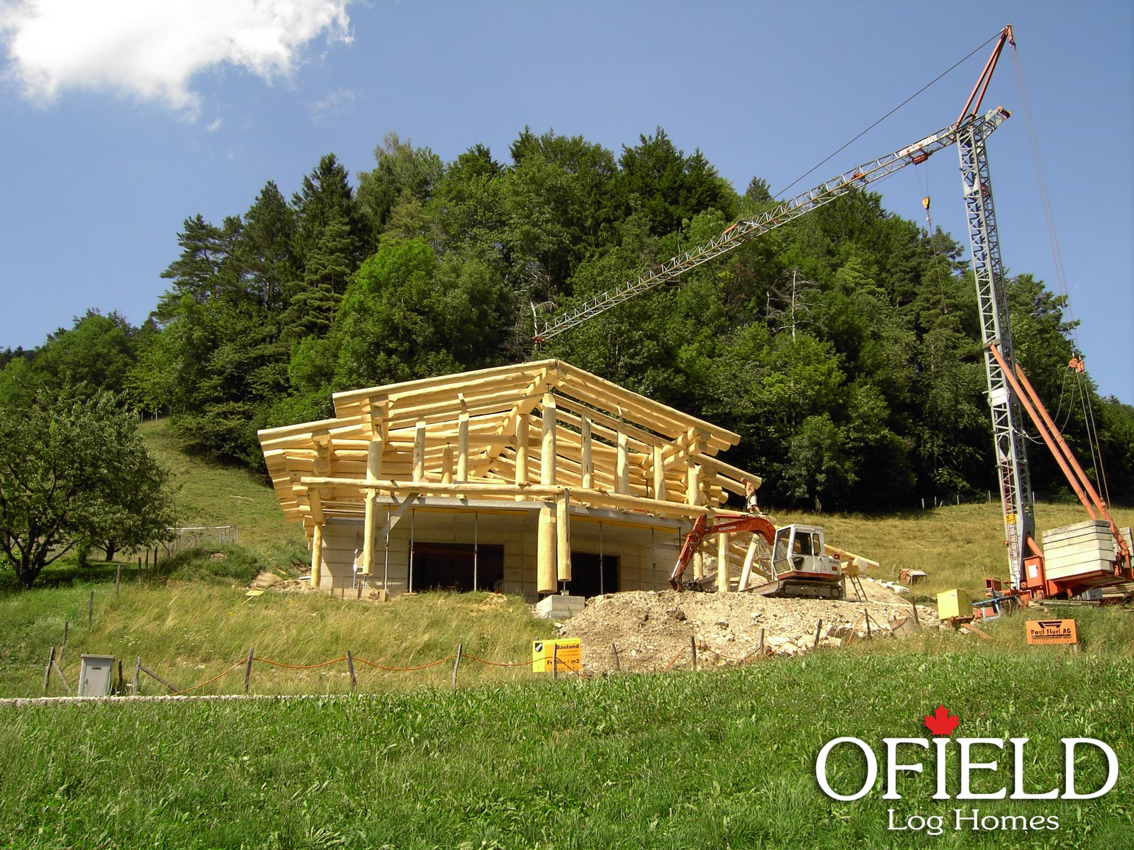 Ofield log homes wedgewood for Wedgewood builders